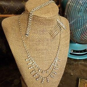 Jewelry - Wedding Prom Costume Jewelry Necklace Bracelet